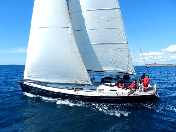 Bareboat Sail boat Grand Soleil 50 Kety (Sails 2019, Bowthruster) - détails