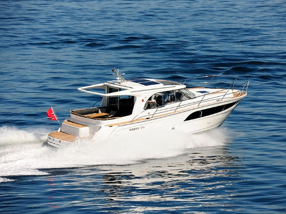 Bareboat Motor boat Marex 375 North star (AC, Generator, Bowthruster, Sterntruster) - détails