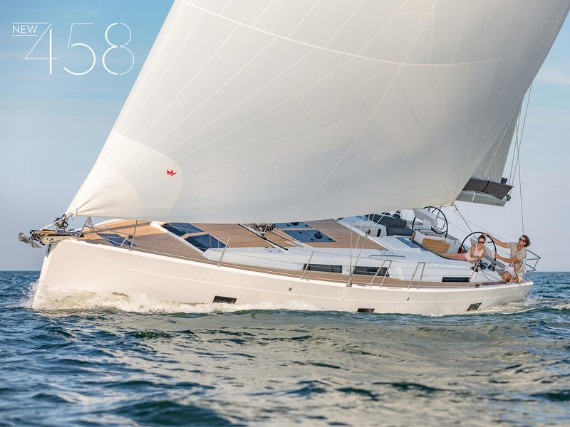 Bareboat Sail boat Hanse 458 Podatok Too - NEW 2020! - détails